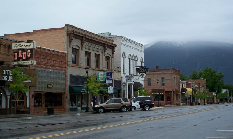 Town of Hamilton Montana